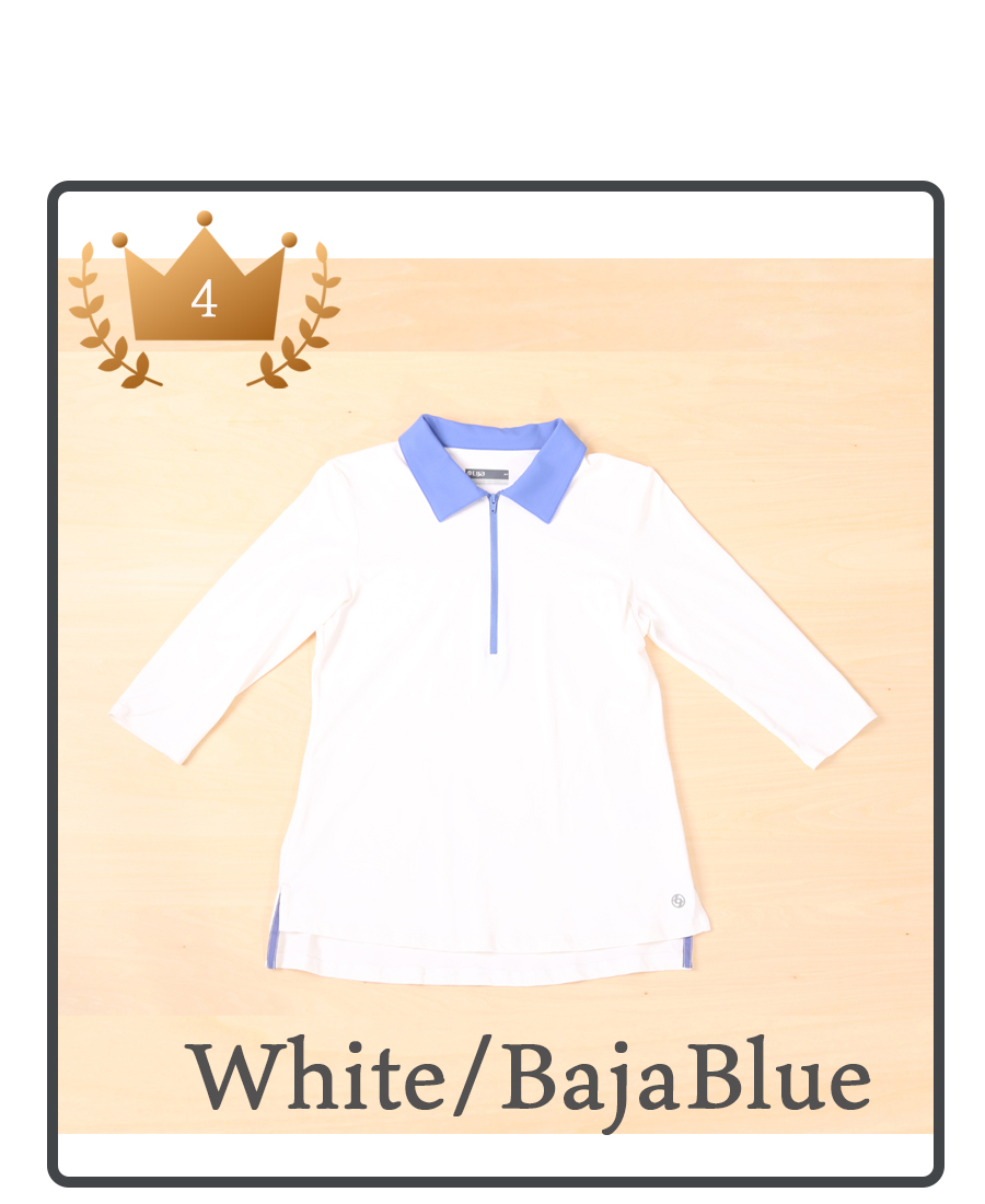 White/Baja Blueの説明